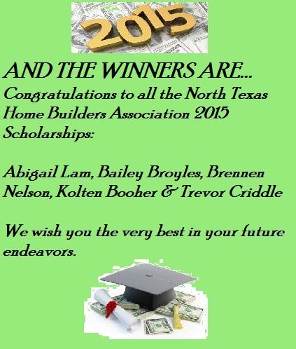 2015 Scholarship Winner announcement for June Reporter